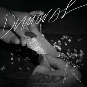 Capa do novo single de Rihanna, 'Diamonds' (Foto: Reprodução)