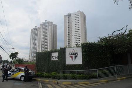 prédio ct do são paulo (Foto: Diego Ribeiro)