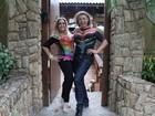 Susana Vieira e Viviane Araújo mostram look para parada gay no Rio