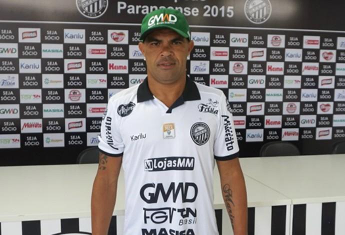 Alessandro Operário-PR (Foto: Divulgação/Operário-PR)