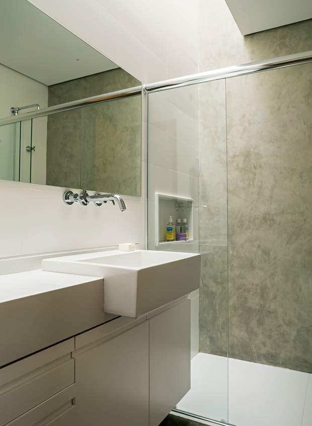 banheiro-concreto-neutro (Foto: Edu Castello/Editora Globo)