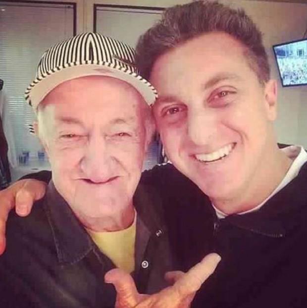 Luciano Huck e Russo (Foto: Reprodução)