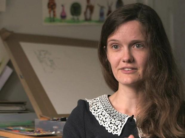 Artista transforma batalha contra anorexia em história em quadrinhos (Foto: BBC)