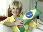 Convicta da vitória do Brasil, Ana Maria vai reunir amigos para assistir aos jogos