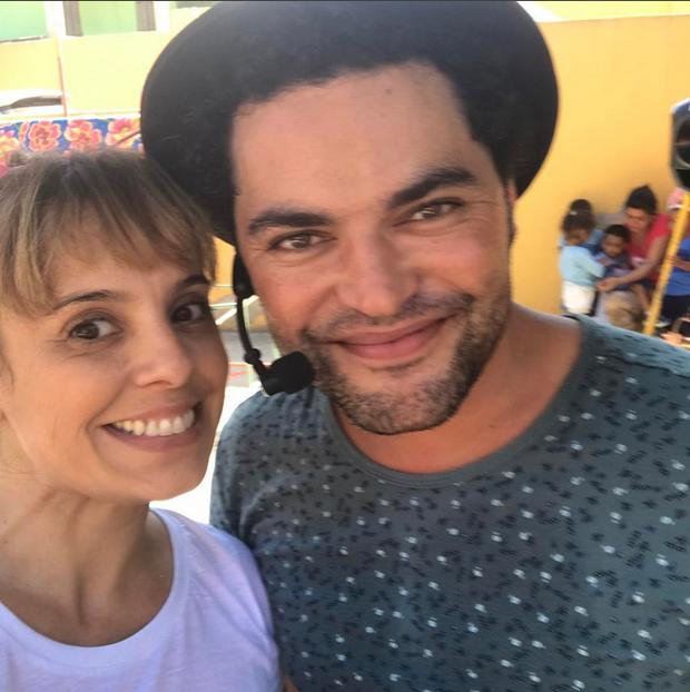 Lorena Duque e Bruno Conde do grupo Macaco Prego (Foto: Reprodução/Instagram)