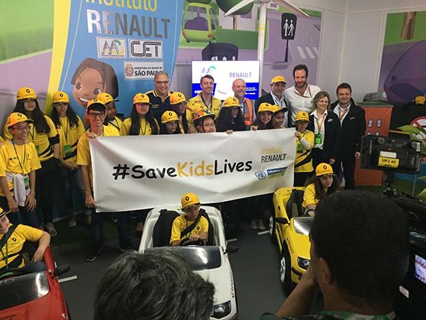 """O Instituto Renault trouxe para o Brasil o programa """"O Trânsito e Eu"""" (Foto: Conexão Saloma)"""