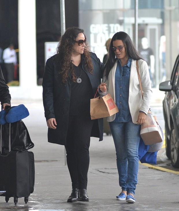 Ana Carolina e Leticia Lima (Foto: AgNews)