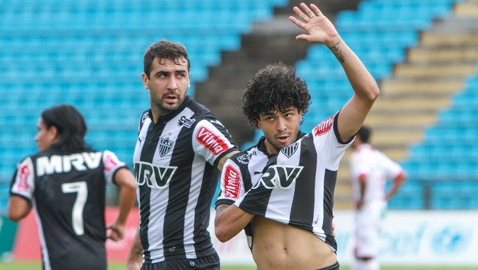 Lucas Pratto e Luan, atacantes do Atlético-MG (Foto: Bruno Cantini / Flickr do Atlético-MG)