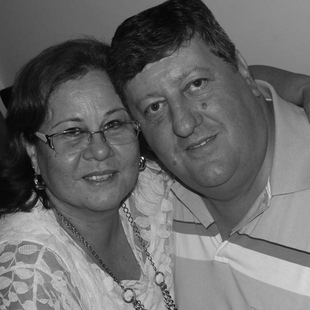 Tanis e Vanderlei tiveram dois filhos (Foto: Arquivo Pessoal)