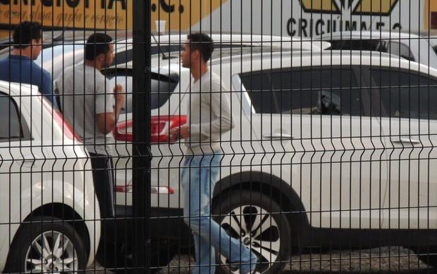 Sueliton carro Criciúma (Foto: João Lucas Cardoso)