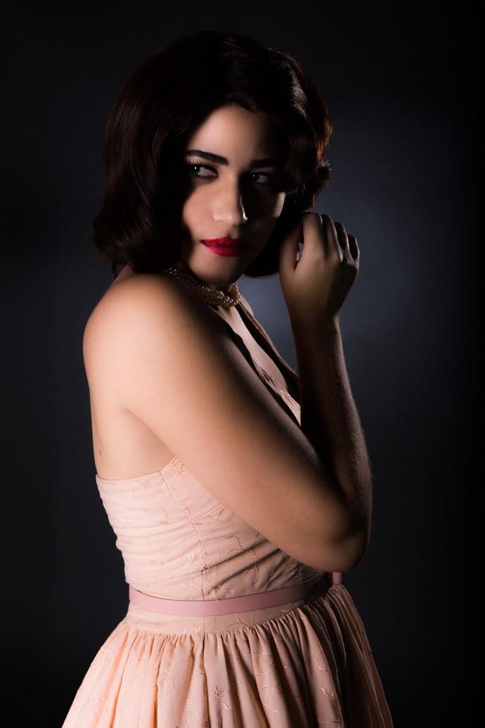 Yasmin escolheu a personagem de Ana Paula Arósio por representar uma mulher forte (Foto: Fábio Rocha / Gshow)