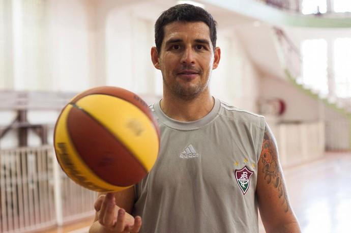 Facundo Sucatzky, jogador de basquete do Fluminense (Foto: Bruno Haddad/Flick Fluminense)