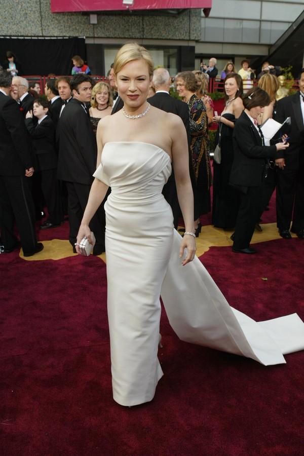 Renée Zellweger no Oscar 2013 (Foto:  )