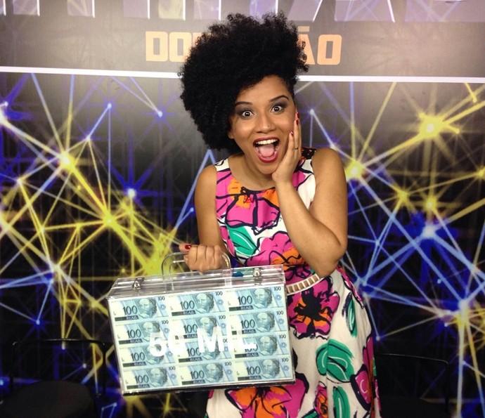 Évila Queiroz vence quinta semana do 'Iluminados' (Foto: Gshow)