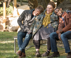 Justin Hartley (Kevin), Chrissy Metz (Kate) e Sterling K. Brown (Randall) em 'This is us' | Ron Batzdorff/NBC