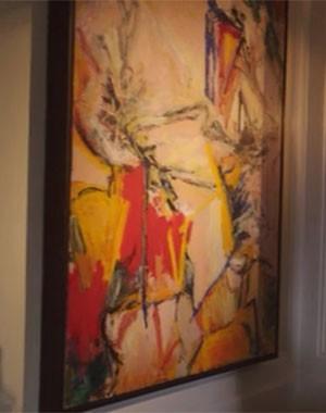 Obra de artes escondia documentos incriminatórios (Foto: Divulgação/Reprodução)