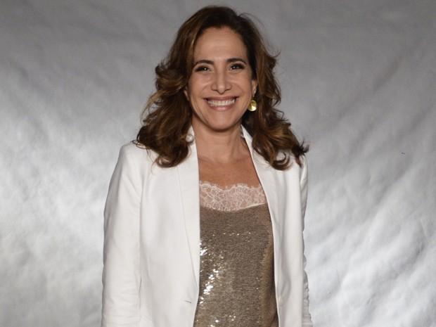Totia Meirelles: tudo em cima aos 54 anos (Foto: Divulgção / TV Globo)