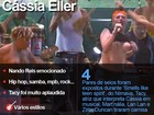 Homenagem para Cássia Eller lembra cantora com seios de fora e boa cover