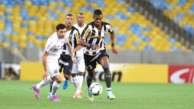 Dankler, Botafogo X Santos (Foto: André Durão)