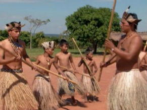 Índios (Foto: Reprodução de tv)