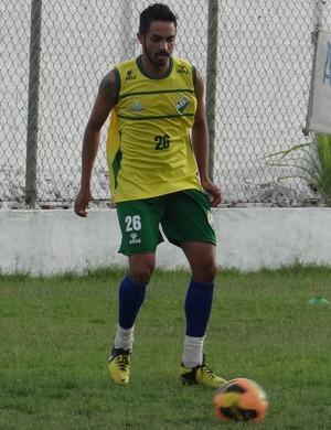 Kaká, atacante do Coruripe (Foto: Leonardo Freire/GloboEsporte.com)