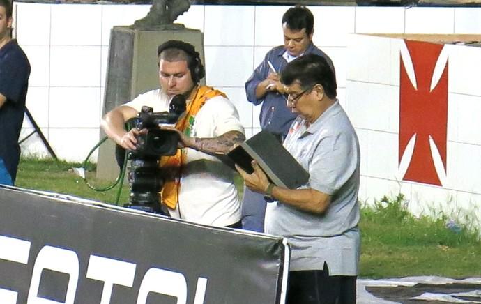 Joel Santana vasco X Luverdense (Foto: Raphael Zarko)