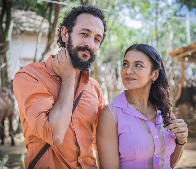 Dira Paes comenta envolvimento de Beatriz com Bento (Foto: Caiuá Franco/ Globo)