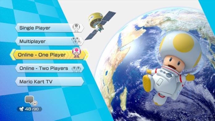 Mario Kart 8: como criar uma sala para jogar com amigos online (Foto: Reprodução/Murilo Molina)