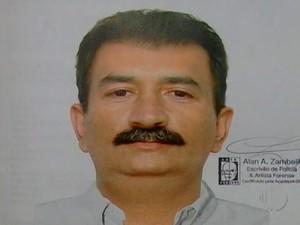 Polícia divulga retrato falado de suspeito em Itaquaquecetuba (Foto: Reprodução/TV Diário)