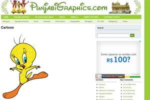 Site exibe GIF clássico do Piu-piu (Foto: Reprodução)