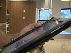 Tecnologia catarinense conquista espaço no mercado imobiliário (Foto: Reprodução RBS TV)
