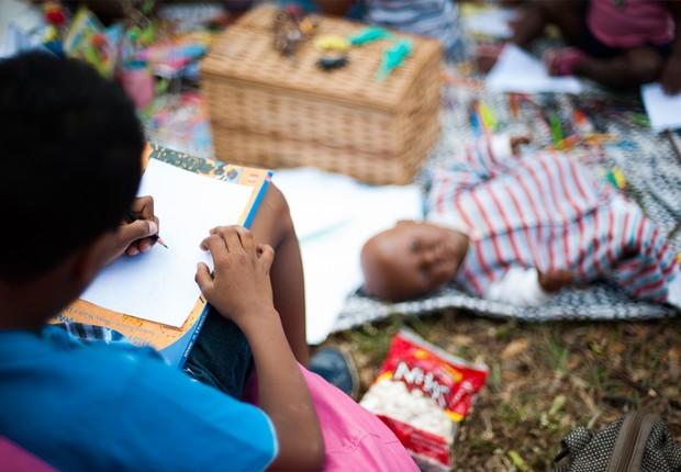 Educação infantil ; trabalho infantil ; crianças ; desigualdade ;  (Foto: Marcello Casal Jr/Agência Brasil/Arquivo)