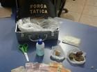 Polícia prende três pessoas por tráfico de drogas em Vilhena, RO