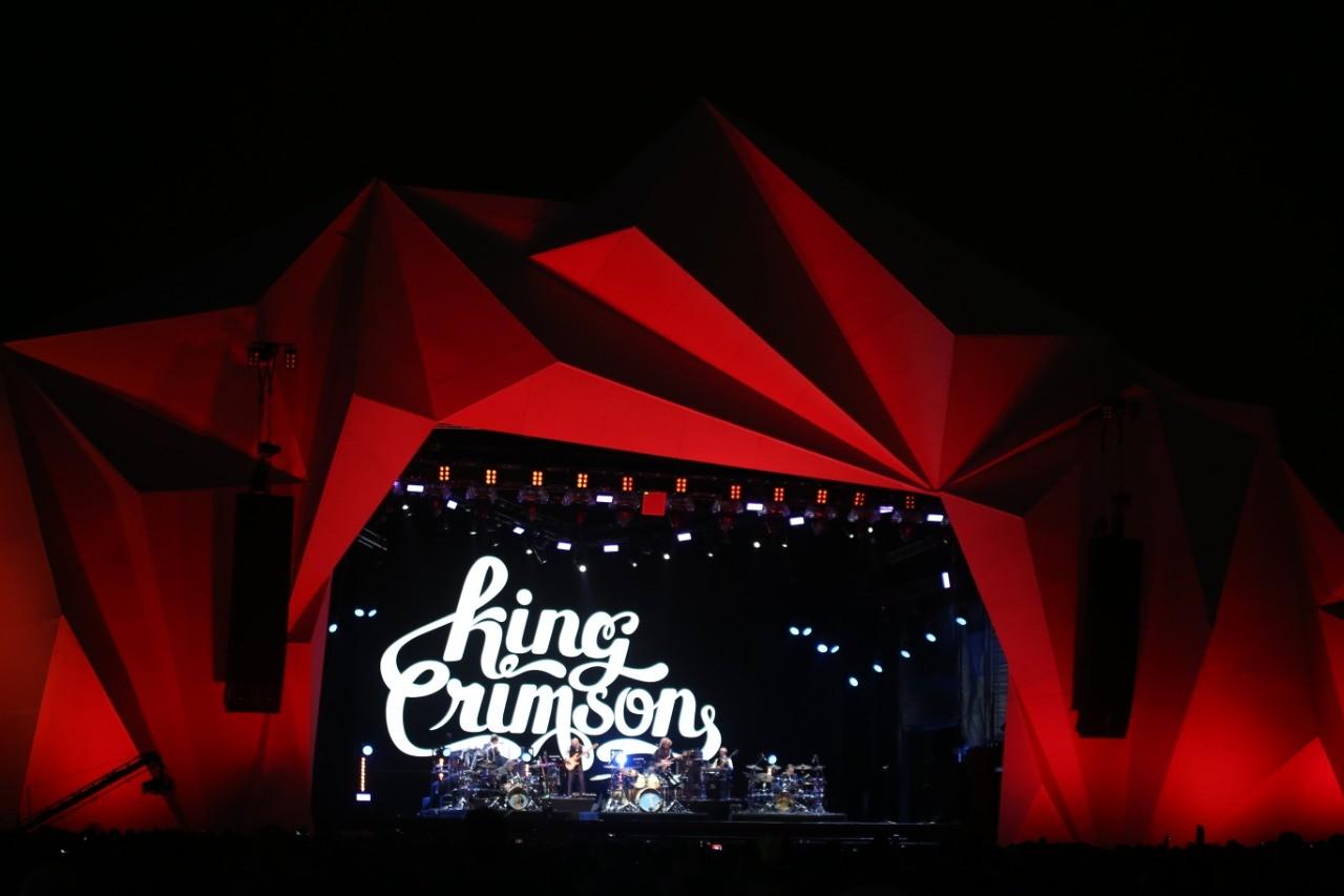 King Crimson no Rock In Rio 2019 (Foto: Fabiano Leone / Multishow)