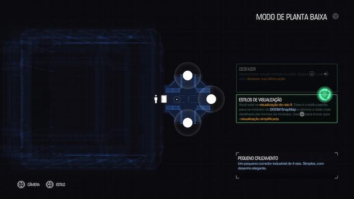 Doom: crie um mapa do zero ou inicie com algo pré-construído (Foto: Reprodução/Victor Teixeira)