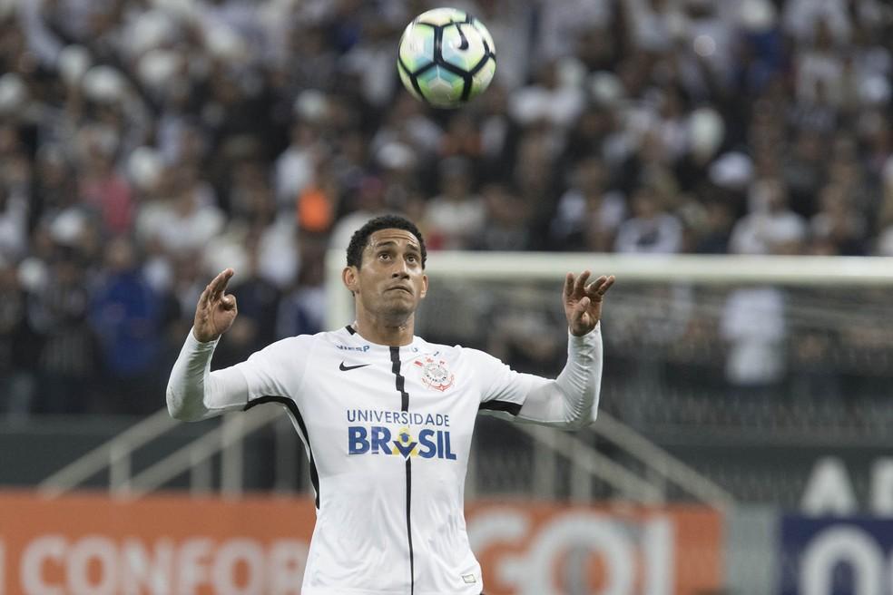 Pablo em ação na partida contra o Bahia, na última quarta-feira (Foto: Daniel Augusto Jr/Ag.Corinthians)