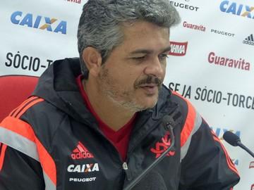 Ney Franco Coletiva Flamengo (Foto: Globoesporte.com)