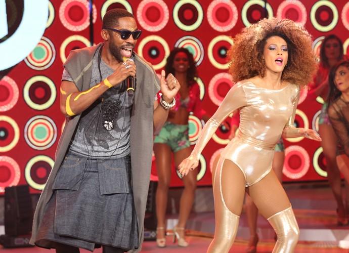 'Perdão Michele' é outro sucesso do astro pop Mister Brau (Foto: Carol Caminha / Gshow)
