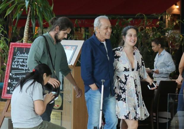 Paloma Duarte, Gracindo Junior e Bruno Ferrari (Foto: Fabio Moreno / AgNews)