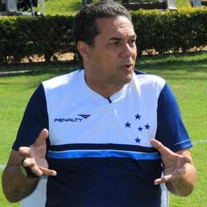 Vanderlei Luxemburgo Cruzeiro (Foto: Sergio Gandolphi)