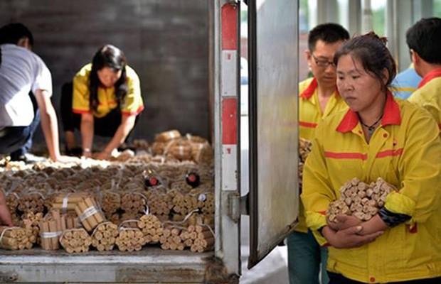 Chinês compra carro de luxo e paga R$ 331 mil em moedas (Foto: Divulgação)