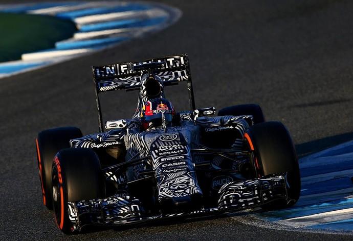 Daniil Kvyat no dia 4 de testes da Fórmula 1 em Jerez de la Frontera (Foto: Divulgação)