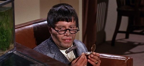 Jerry Lewis no clássico do pastelão O professor aloprado, um de seus filmes mais memoráveis  (Foto: Reprodução)