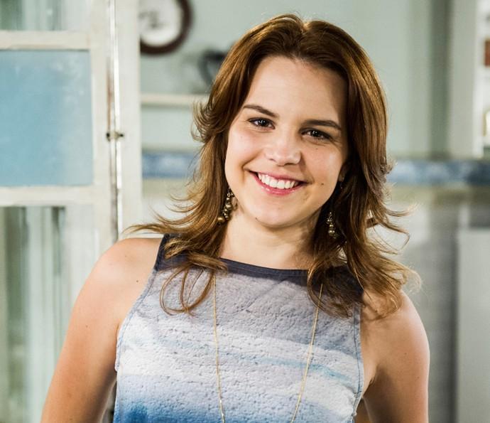 Bianca Salgueiro é Carmen em 'A Lei do Amor' (Foto: Cynthia Salles/TV Globo)