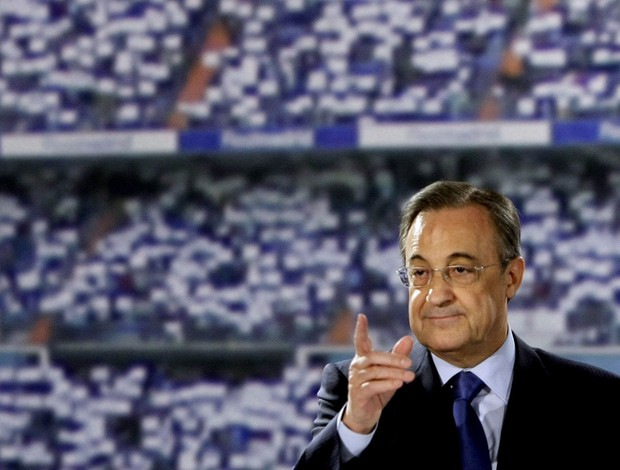 florentino perez presidente do Real Madrid (Foto: Agência Reuters)