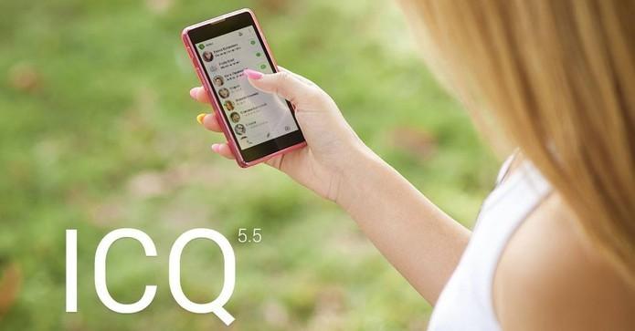 ICQ voltou depois de mais de dez anos com versões para smartphones (Foto:Divulgação/ ICQ)