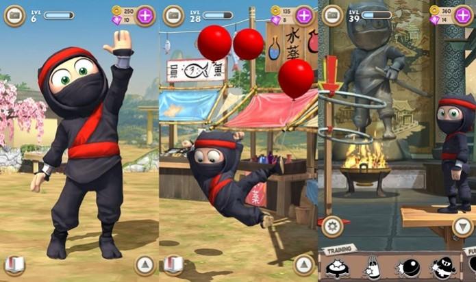 Clumsy Ninja (Foto: Reprodução)