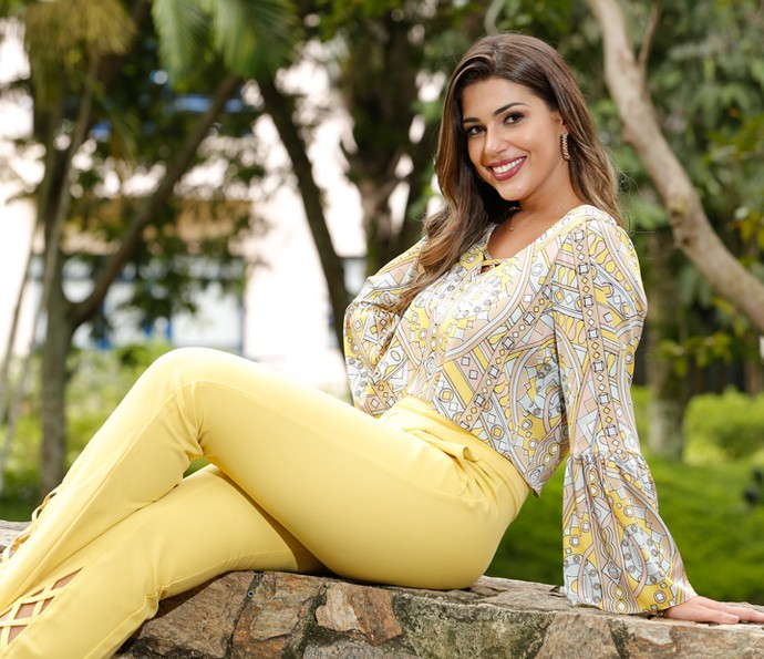 Vivian Amorim posa nos Estúdios Globo  (Foto: Felipe Monteiro)