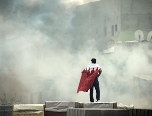 Conflitos no Bahrein voltam a ameaçar realização de etapa da Fórmula 1 (Foto: AFP)