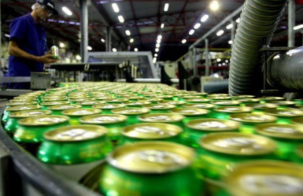 Ambev Fábrica de refrigerante Guaraná (Foto: Divulgação)